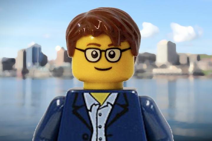 Lego likeness of Darren MacNeil