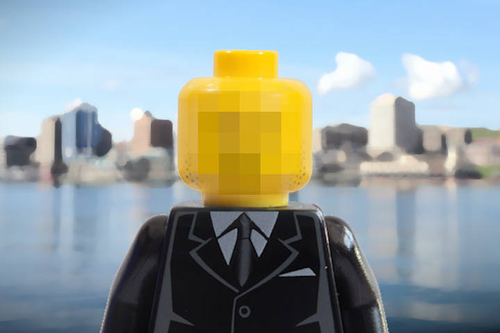 Lego Likenes of Paul Matlock - information security manager